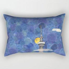 Starry Night over Skytree Tokyo Rectangular Pillow