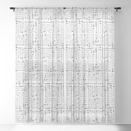 weapons of mass creation Sheer Curtain