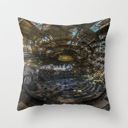 Forget your past Throw Pillow