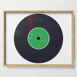 Vinyl Record Zodiac Sign Taurus Serving Tray