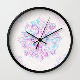 Winter Fiery  Wall Clock