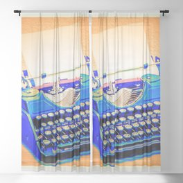 FREELANCER Sheer Curtain
