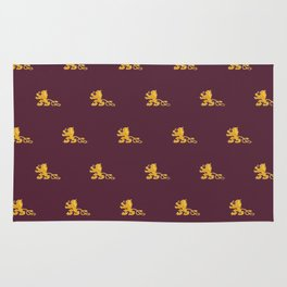 Royal Gryphons in Purple Rug