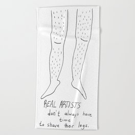Legs Beach Towel