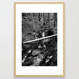 Into a Fathomless Chaos Framed Art Print