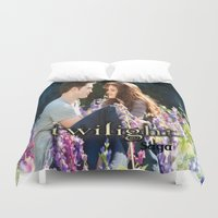 saga Duvet Covers featuring Twilight Saga by ezmaya