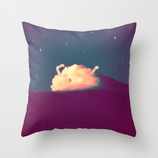 Bed Time #2 Throw Pillow