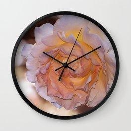 O'Keeffe Rose Wall Clock