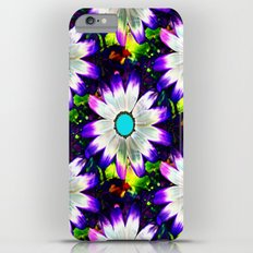 Pop-Art Daisy Flowers iPhone 6 Plus Slim Case