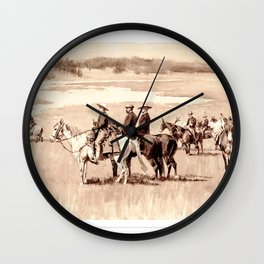 Burgess Finding a Ford Wall Clock