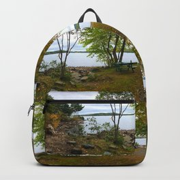 Autumn in Belgrade, Maine (3) Backpack