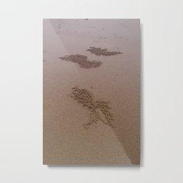 Sandart Metal Print