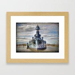 USS Texas Framed Art Print