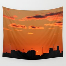Sunset March 2018 Wall Tapestry