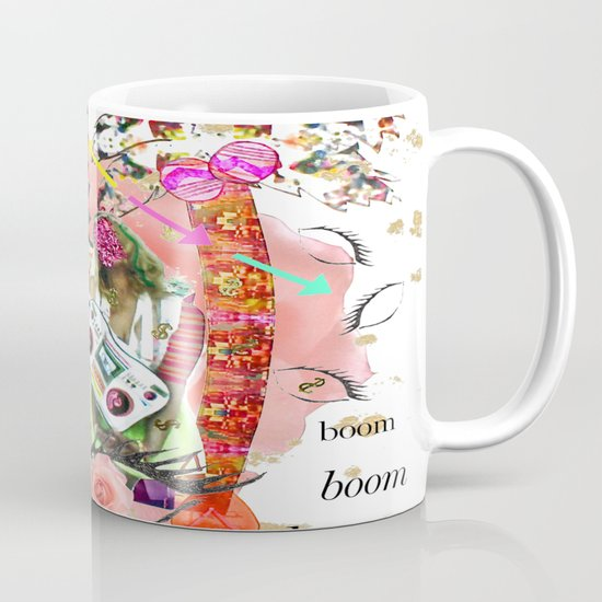 Rose-tinted Lashes In The Boom Boom Room Mug