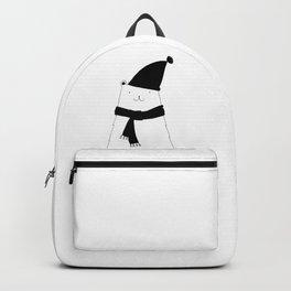 Scandinavian style bear art Backpack