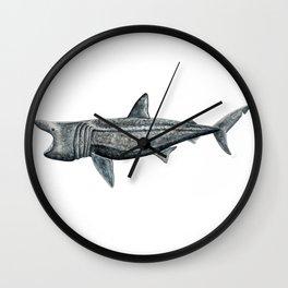 Basking shark (Cetorhinus maximus) Wall Clock