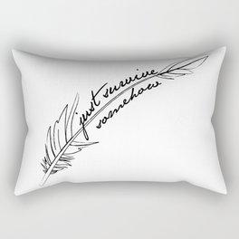 JSS feather Rectangular Pillow