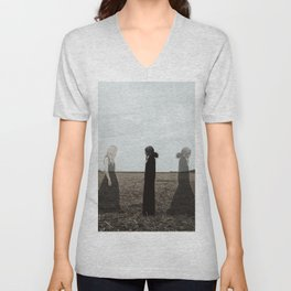 You can not escape from getting older.. Unisex V-Neck