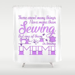 Sewing Mimi Shower Curtain