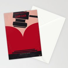 No737 My Liar Liar minimal movie poster Stationery Cards