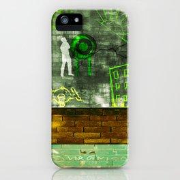 Street Art Digital 2.0 iPhone Case