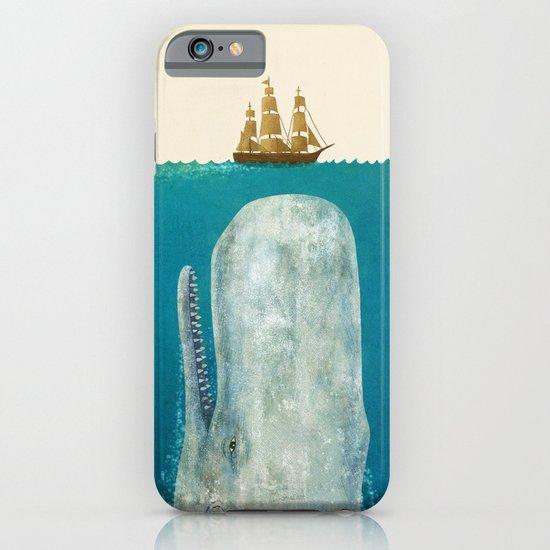 The Whale - colour option iPhone & iPod Case