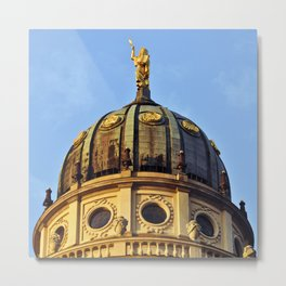 French Cathedrale - Gendarmenmarkt - Berlin Metal Print