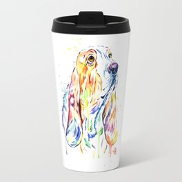 Basset Hound Travel Mug