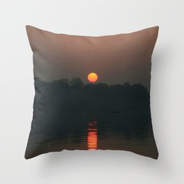 The Rising Star! Throw Pillow