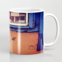 puerto rico Mugs featuring Lizard in Puerto Rico by ANoelleJay