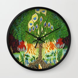 BNC#1980-08 Judea and Israel By Baruch Nachshon Hebron Israel Wall Clock