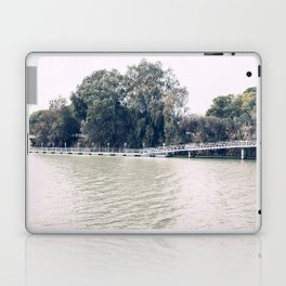 Calm river side | modern landscape photography Laptop & iPad Skin