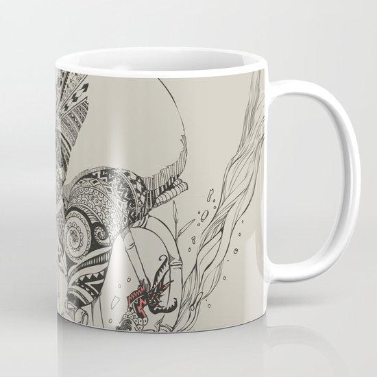Panda and Follow Fish Mug