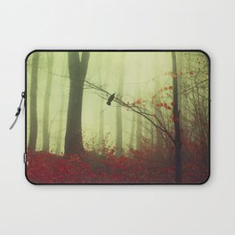 mysteriOns - surreal forest scene Laptop Sleeve