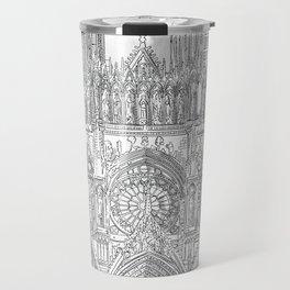 Reims - Cathédrale Notre-Dame Travel Mug