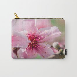 Peach Blossoms 16 Carry-All Pouch
