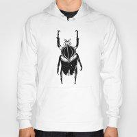 beetle Hoodies featuring Beetle  by Lana Alana
