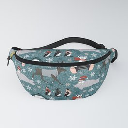 The cold never bothered me anyway Fanny Pack