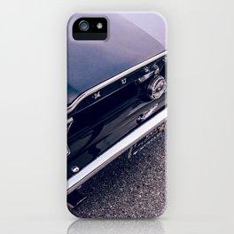 Black Mustang iPhone Case