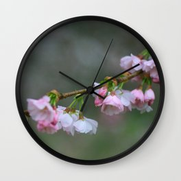 tsunami blossom 7560 Wall Clock