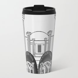 Necropolis Coins Palladium and Platinum Travel Mug