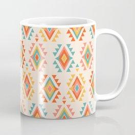 Southwest Geo White Coffee Mug