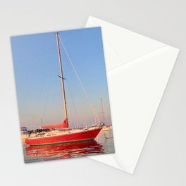 Red, Right, Return. Stationery Cards