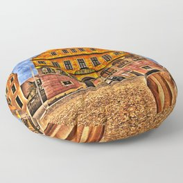 Oath House Ulm, Germany ( local history museum ) Floor Pillow