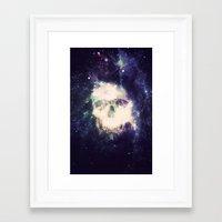 dead space Framed Art Prints featuring Dead Space by Nicholas Redfunkovich