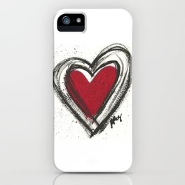 Your Heart is your Best Secret iPhone Case
