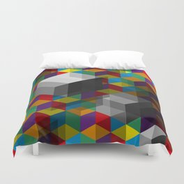 Isometric Colour Duvet Cover