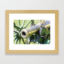 The cannon (color version) Framed Art Print
