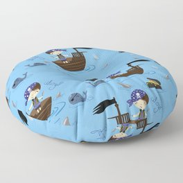 Pirate Story Floor Pillow